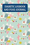 Diabetic Logbook And Food Journal: Daily Food Diary And Blood Sugar Log - Llama