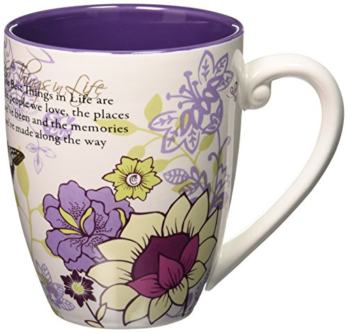 4.75 20 oz Multicolor Mark My Words 66131 Pavilion The Best Things in Life Mug