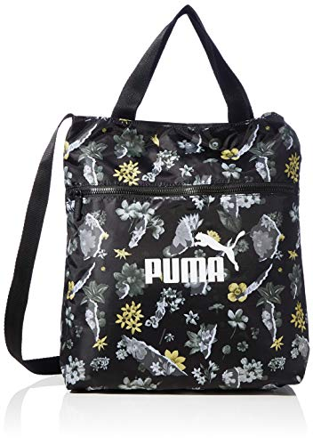 PUMA Damen WMN Core Seasonal Shopper Sporttasche, Black-AOP, OSFA