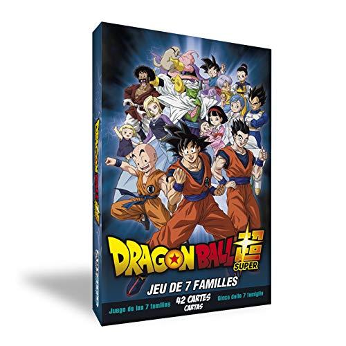 goodies Dragon Ball Super Jeu 7 Familles multicolor 10 x 19 x 1,5 cm