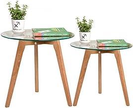 Sofa Side Table End Tables Sofa Table Coffee Table Wood Legs End Table Sofa Table Side for Living Room Bedroom Sofa Snack ...