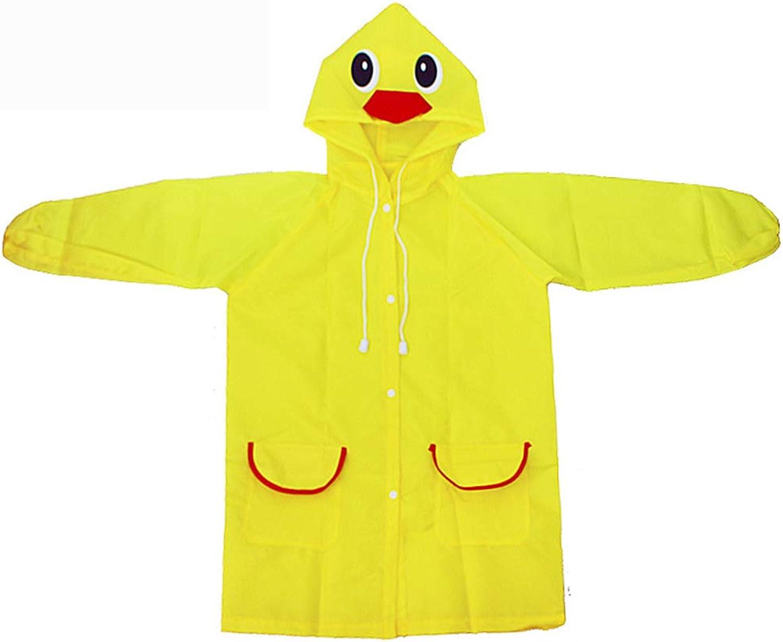 Kids Rain Jacket Age 38 Shaped Lightweight Rainwear Rain Cape Rain Wear Cute Boy for Girl WQING