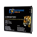Extremecells Batterie pour Samsung Galaxy Note 2 Note II GT-N7100 GT-N7105 remplace EB595675LU