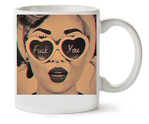 MugsWorld Retro Glazen Klassieke theekop koffiemok