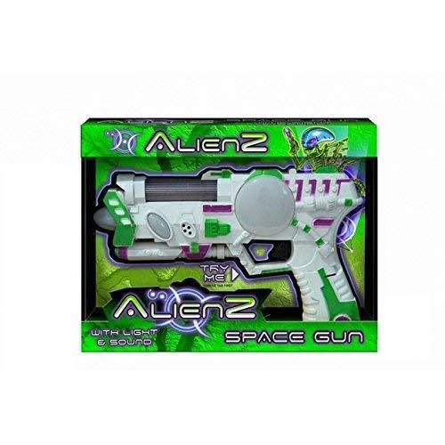 Toyland® Alienz Pistola Spaziale con Luce e Suono - Giochi Elettronici - Giocattoli per Ragazzi