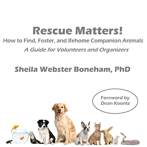 Rescue Matters audiobook cover art