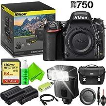 Nikon D750 DSLR Camera (Body Only) Outdoors Kit