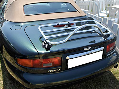 Aston Martin DB7 Volante Luggage Rack ; No Metal Clamps to Damage Paint : Revo-Rack