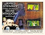 Rear Window - Alfred Hitchcock – Film Poster Plakat