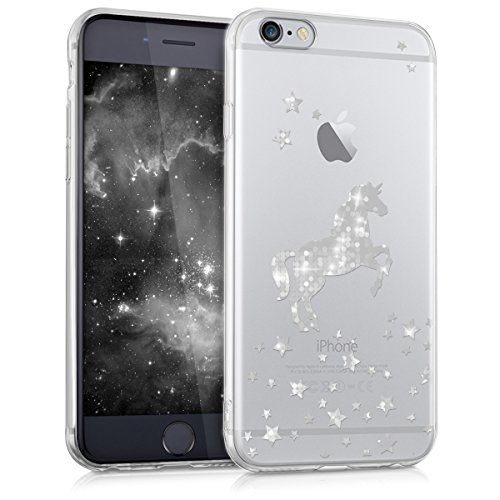 kwmobile Apple iPhone 6 / 6S Hülle - Handyhülle für Apple iPhone 6 / 6S - Handy Case in Einhorn...