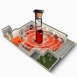 DJLOOKK Calentador de sombrilla para Patio, Calentador de Gas propano para Exteriores con Rueda, lámpara de Calor Permanente de Temperatura rápida, Estufa de calefacción Interior de Invierno
