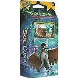 Cartas Pokémon Sol y Luna Baraja Temática Caja de 60 Cartas Pokémon, Juego de Cartas Coleccionables Pokémon Serie Sol y Luna Baraja Temática, Cartas Pokémon en Castellano (Sombra Forestal)