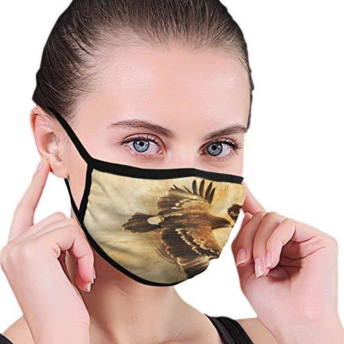 Prenda impermeable divertida de las bufandas de la moda del vuelo de las citas del águila con 2 filtros