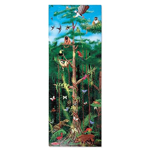 Melissa & Doug 100pc Rainforest Floor Puzzle