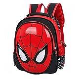 TaoQi Spiderman Sac à dos pour enfant Motif Spiderman Spiderman Marvel Comics Superhéros Thème Cartoon Sac à dos pour bébé garçon fille Sac de sport Sac de voyage Rouge