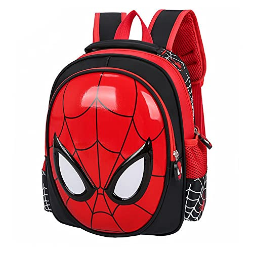 TaoQi Spiderman Mochila escolar infantil,diseño de Spiderman, Comics, superhéroes, dibujos animados, mochila para bebé, niño, niña, deporte, bolsa de viaje, color rojo