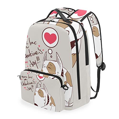 Gelb Ermops Blau Kopf Studentenrucksack Kinderrucksack Büchertasche Schülerrucksack Laptop mit Umhängetasche für die Mädchen Jungs