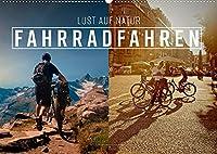 Fahrradfahren - Lust auf Natur (Wandkalender 2022 DIN A2 quer): Ein Leben ohne Fahrrad, heutzutage gar nicht mehr vorstellbar. (Monatskalender, 14 Seiten )