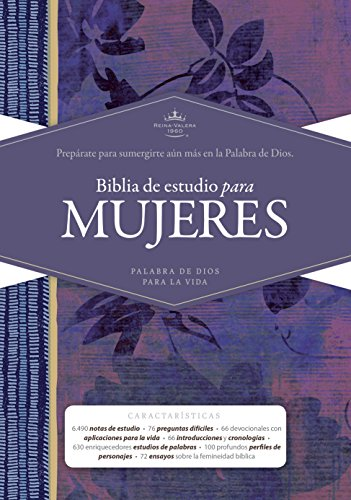Compare Textbook Prices for RVR 1960 Biblia de Estudio para Mujeres, tapa dura Spanish Edition Spanish Language Edition ISBN 9781433613999 by Kelley Patterson, Dorothy,Harrington Kelley, Rhonda,B&H Español Editorial Staff