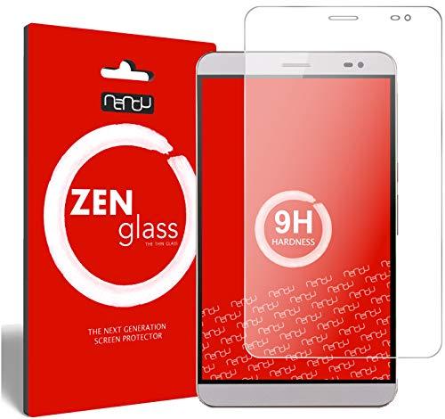 ZenGlass Flexible Glas-Folie kompatibel mit Huawei MediaPad X1 / X2 7.0 Panzerfolie I Bildschirm-Schutzfolie 9H
