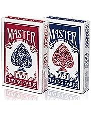 MASTER OYUN KAĞIDI A/30 T77 İSKAMBİL KAĞIDI 52'Lİ İSKAMBİL DESTESİ KS Master Playing Oyun Kağıtları