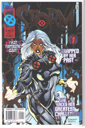 Storm Marvel Comics First Fantastic Issue #1 Trapped By Her...
