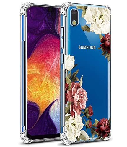 Samsung Galaxy A10E Slim Floral Pattern Case by Ueokeird