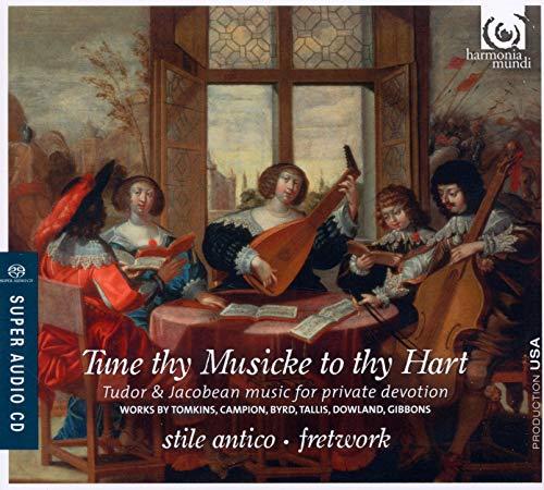 トムキンズ:「おお、主をほめたたえよ」 他 (Tune Thy Musicke to Thy Hart / Stile Antico, Fretwork) [SACD Hybrid] [輸入盤]