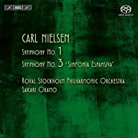 Nielsen: Symphonies 1 & 3 by Royal Stockholm Philharmonic Orchestra
