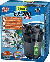 UNE EAU CRISTALLINE ET PURE: TETRA EX 800 Plus est équipé d'une technologie de filtration qui assure durablement pureté et limpidité de l'eau. Tetra EX 800 puissant et silencieux, filtre jusqu'à 600L/h. Il est adapté aux aquariums de 100L à 300L INDI...