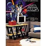 RoomMates Star Wars Classic Chair Rail Removable Wall Mural - 10.5 feet X 6 feet,Multicolor