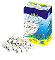 Bio ceramic rings media for all types of fish tanks Ideal biological filter media Lots of cross section area on bio -rings for bacteria growth 250g Box