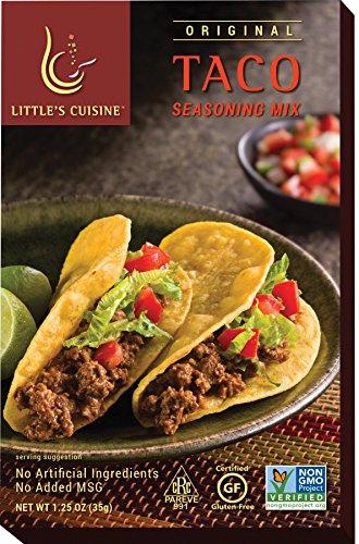 Little's Cuisine Original Taco Seasoning Mix (Case of 8)