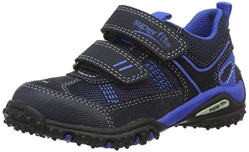 Superfit Sport4 Jungen Sneaker, Blau (Ocean Kombi 81), 31 EU