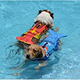 HHXXTTXS Haustier Schwimmweste Hund Hai Badeanzug Hummer Schwimmweste DREI Meter optional