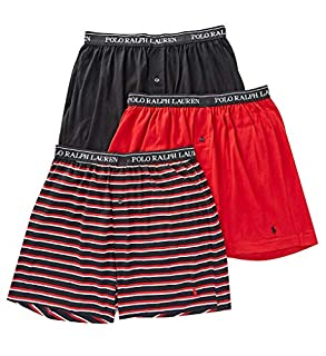 Polo Ralph Lauren Knit Boxer Shorts with Moisture Wicking 100% Cotton - 3 Pack (S, Grey Asst) (B07FMZ8KQT) | Amazon price tracker / tracking, Amazon price history charts, Amazon price watches, Amazon price drop alerts