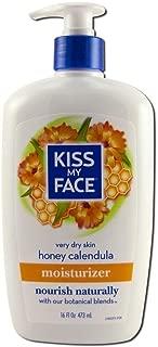 Kiss My Face Ultra Moisturizer Honey Calendula - 16 fl oz Pack of 2