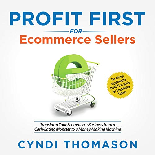 Profit First for Ecommerce Sellers audiobook cover art