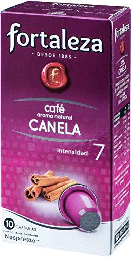 Café Fortaleza - Cápsulas de Café con Aroma a Canela Comp