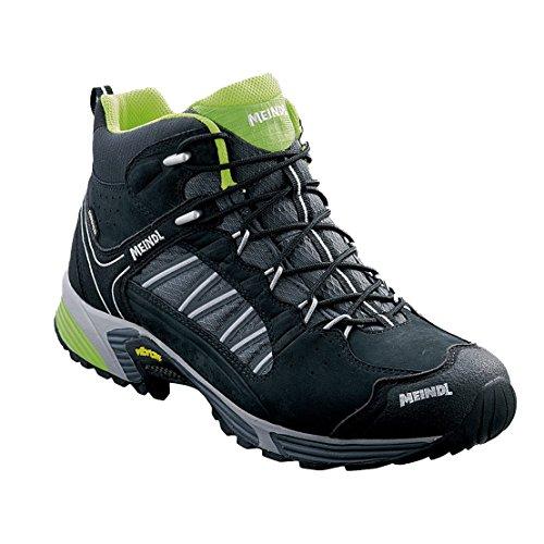 Meindl 3062-01/7, 5 SX 1.1 Mid GTX Chaussures pour Homme, Noir/Jaune Citron, Taille 41