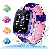 TLLAYGM Bambini Smartwatch. Kids Smart Watch Phone per Bambini IP67 Impermeabile...