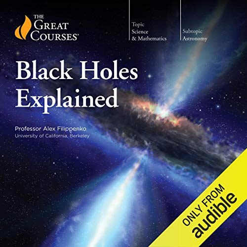 Black Holes Explained audiobook cover art