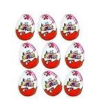 Kinder Sorpresa Disney Princess Chocolate Huevos, con juguete interior [Paquete de 9]