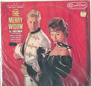 Al Goodman & His Orchestra: Lehar: The Merry Widow LP VG++ Canada RCA CAL 397
