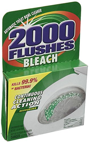 2000 Flushes Bleach