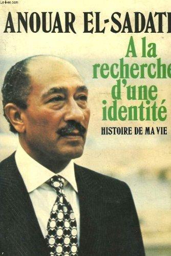A la recherche d'une identité histoire de ma vie