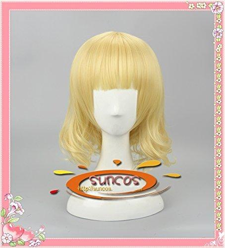 『耐熱コスプレウィッグ ご注文はうさぎですか シャロ / 桐間 紗路 cosplay wig 専用ネット付sunshine onlineが販売』のトップ画像