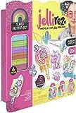 Jellirez - Glitter Set, crea tus joyas con gelatina y purpurina (Famosa JEL01000)
