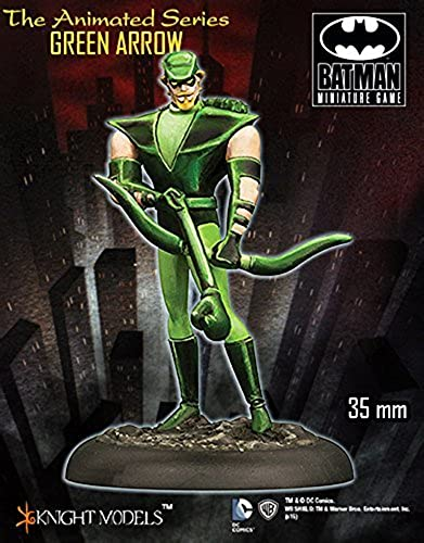 Animated Series - Grün Arrow by Batman Miniatures Game - Grün Arrow 35mm