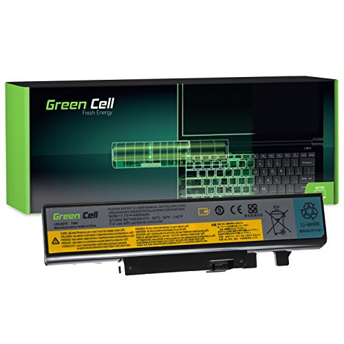 Green Cell® Extended Serie L09L6D16 Laptop Akku für Lenovo B560 V560 IdeaPad Y460 Y560 (6 Zellen 4400mAh 11.1V Schwarz)